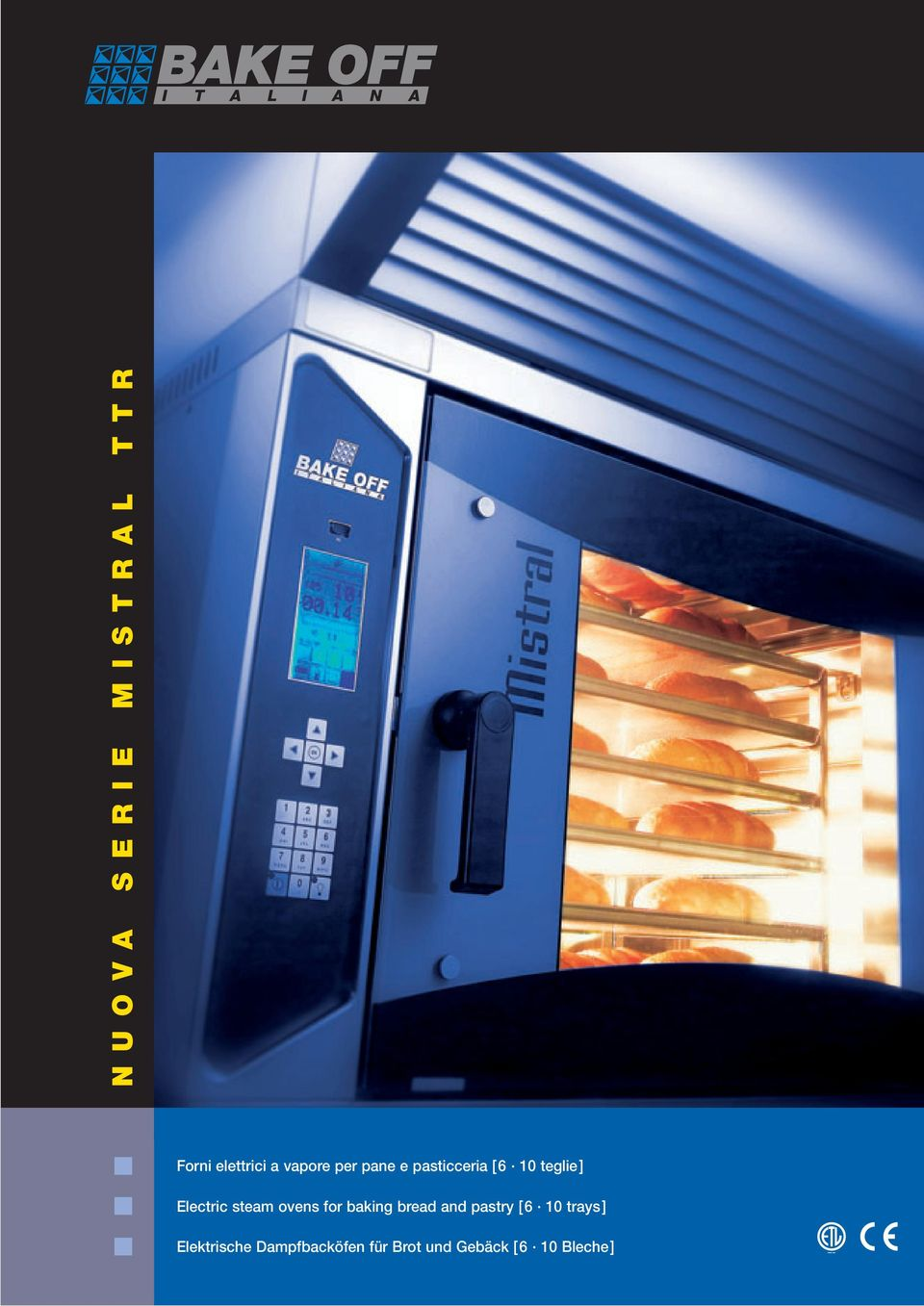 steam ovens for baking bread and pastry [6 10 trays]