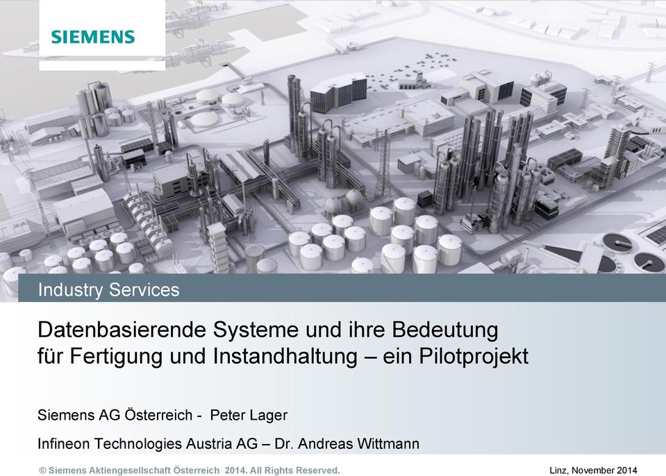 Peter Lager Infineon Technologies Austria AG Dr.