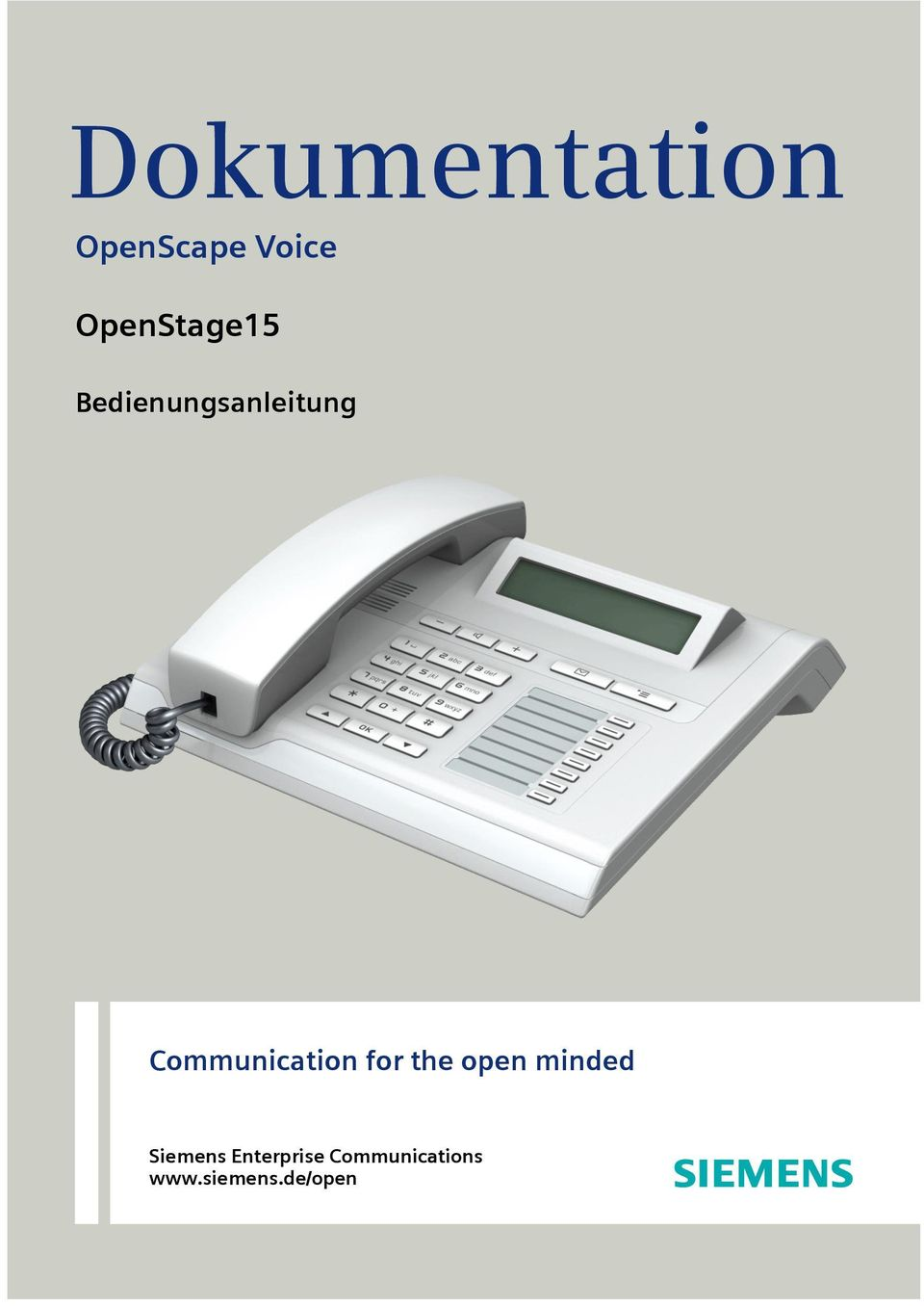 Communication or the open minded Siemens