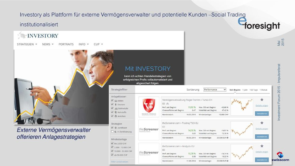 Social Trading institutionalisiert