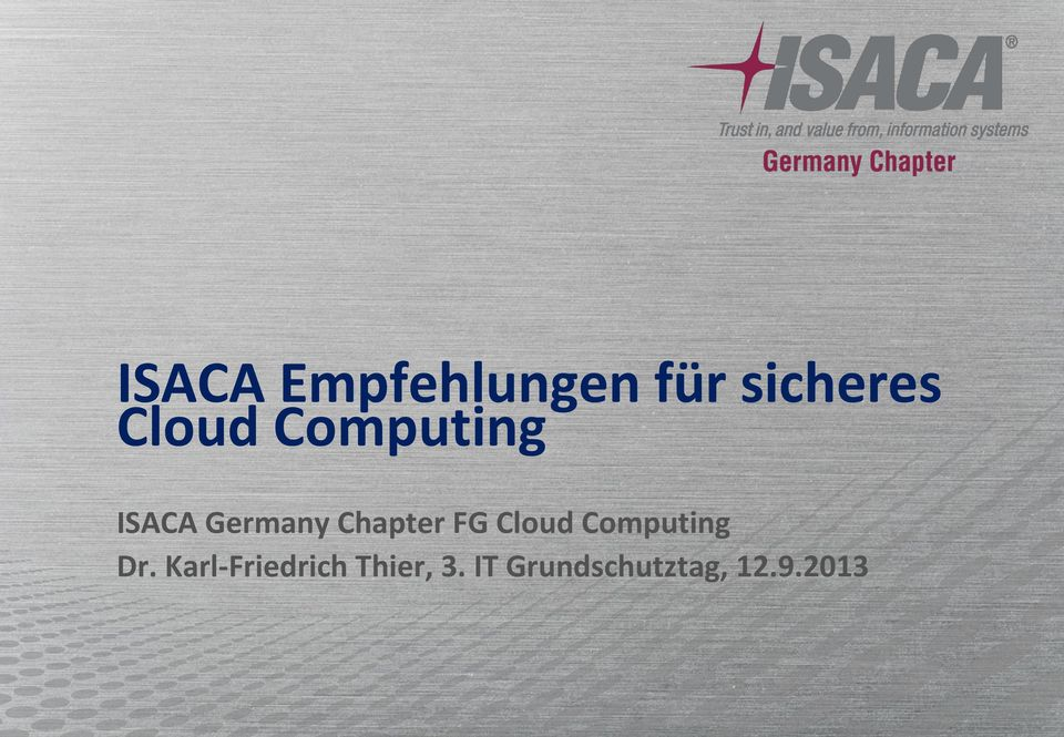 Chapter FG Cloud Computing Dr.