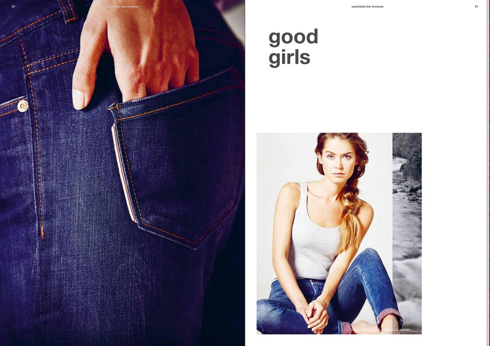 good girls Womens Slim