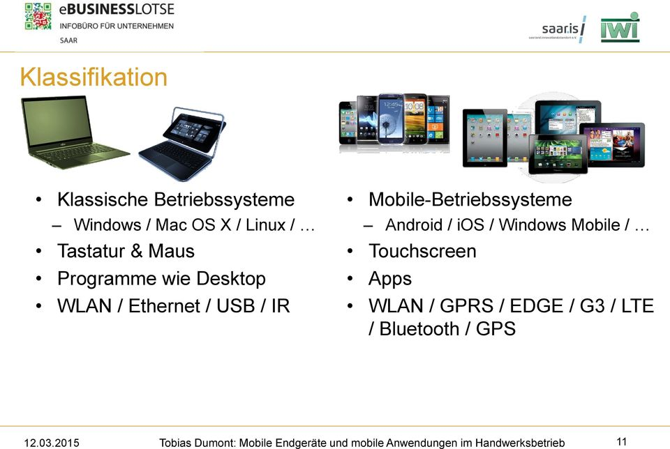 USB / IR Mobile-Betriebssysteme Android / ios / Windows Mobile /