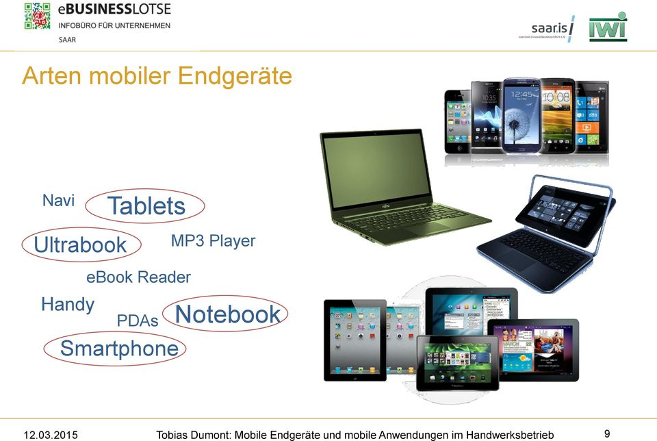 Tablets ebook Reader PDAs