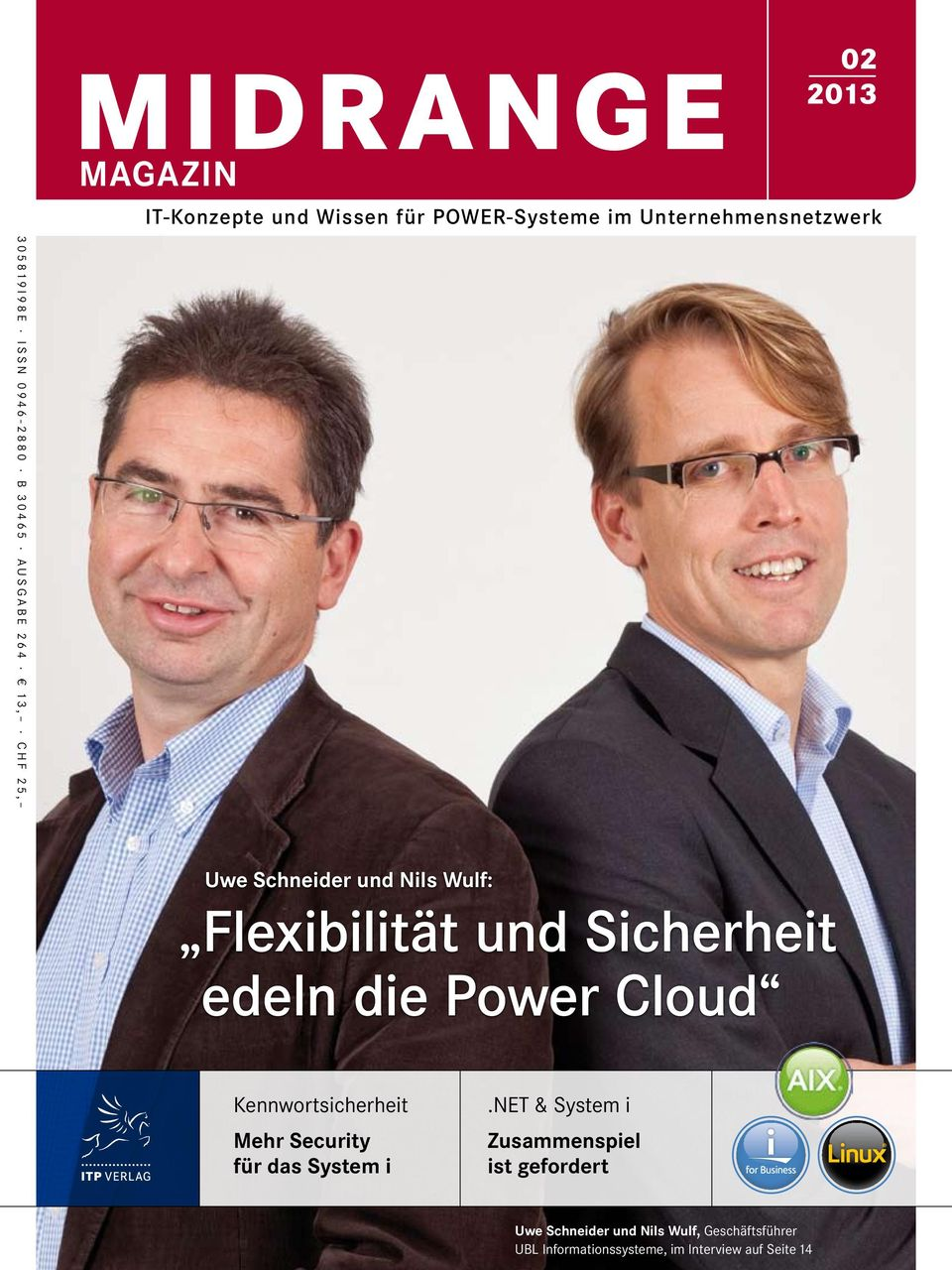 Power Cloud Kennwortsicherheit Mehr Security für das System i.