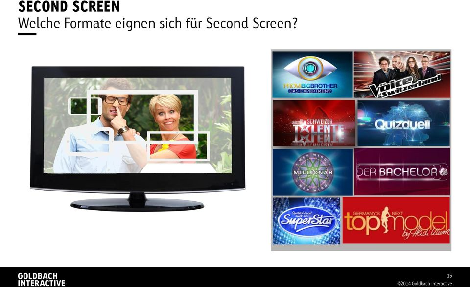 für Second Screen?