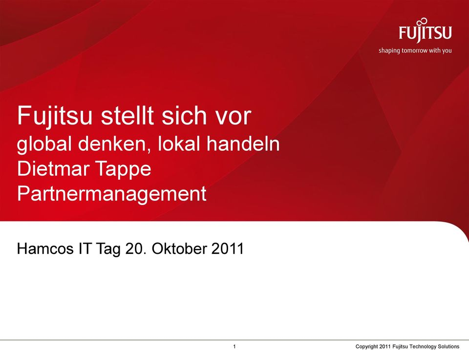 Partnermanagement Hamcos IT Tag 20.
