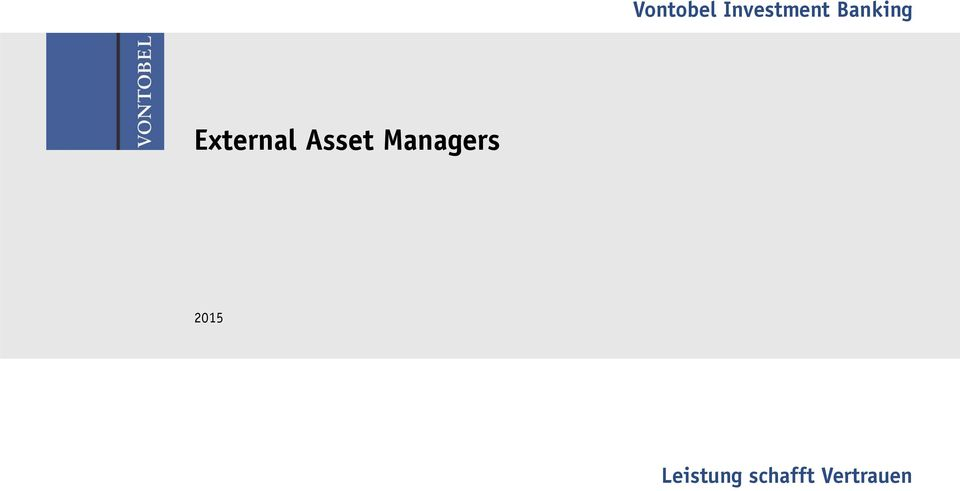 Asset Managers 2015