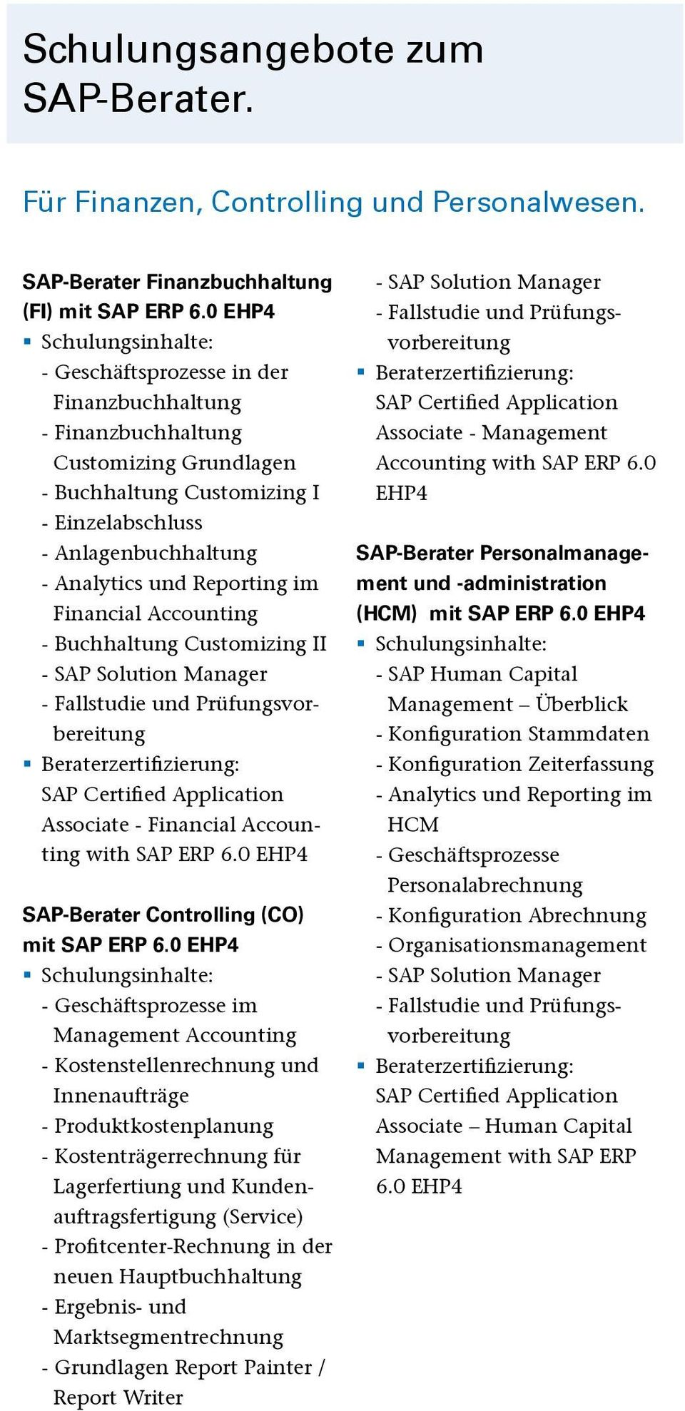 Financial Accounting - Buchhaltung Customizing II - SAP Solution Manager - Fallstudie und Prüfungsvorbereitung Beraterzertifizierung: SAP Certified Application Associate - Financial Accounting with