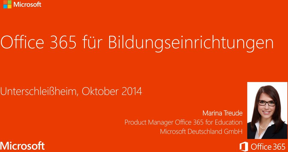 Treude Product Manager Office 365 for