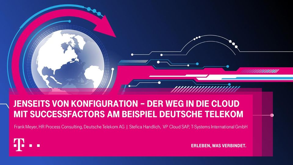 Meyer, HR Process Consulting, Deutsche Telekom AG