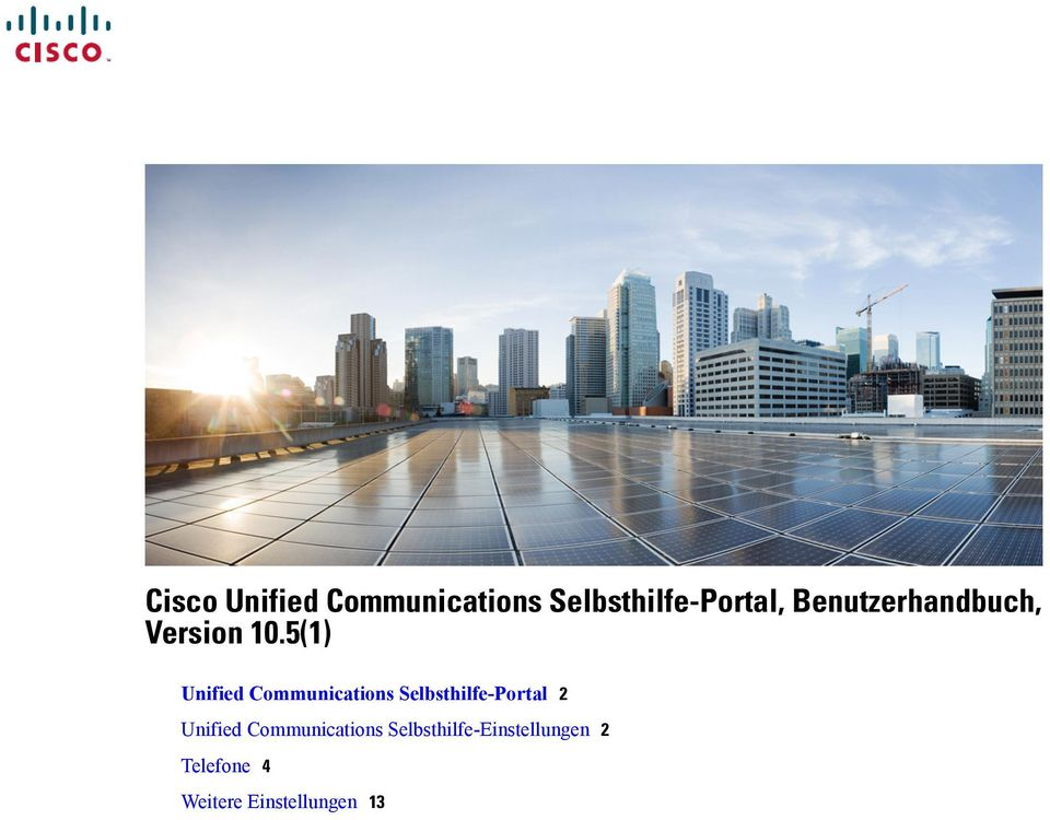 5(1) Unified Communications Selbsthilfe-Portal 2
