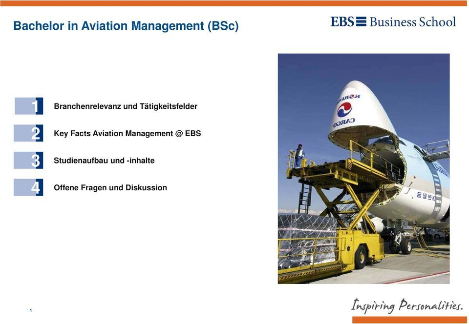 Key Facts Aviation Management @ EBS