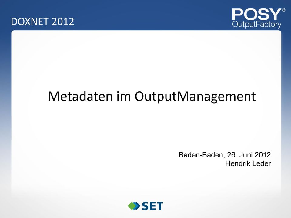 OutputManagement