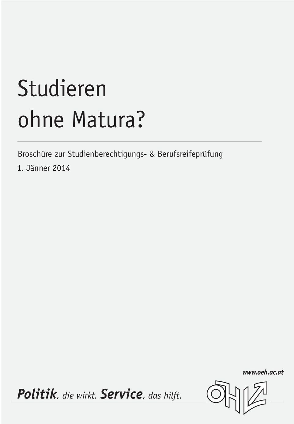 Studienberechtigungs- &