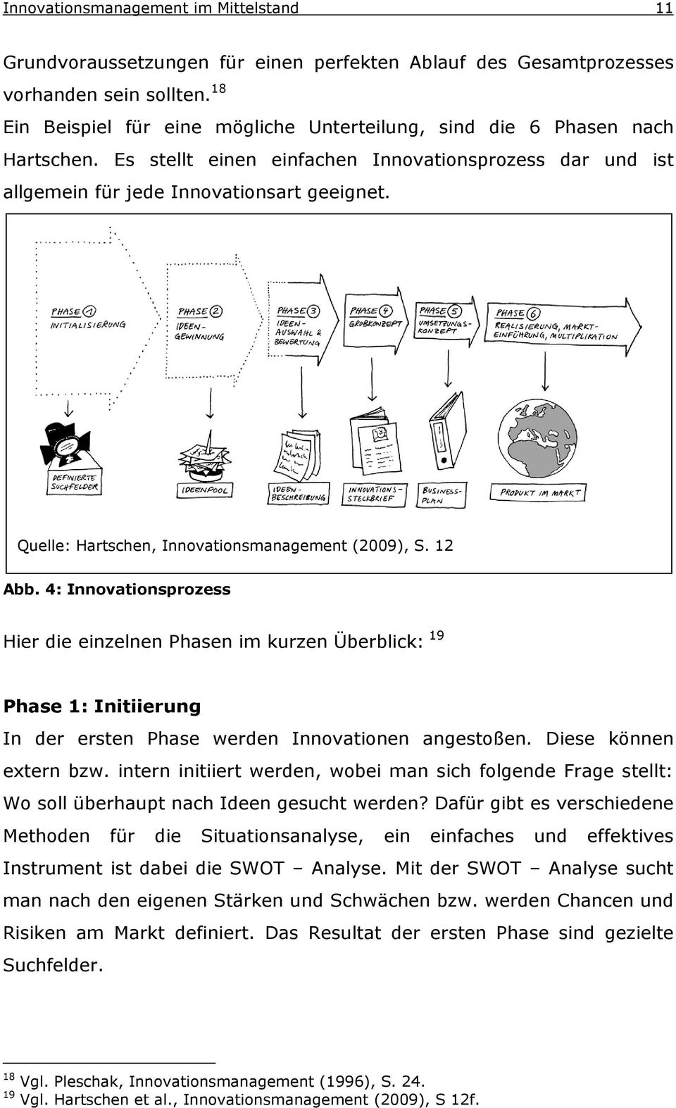 Quelle: Hartschen, Innovationsmanagement (2009), S. 12 Abb.