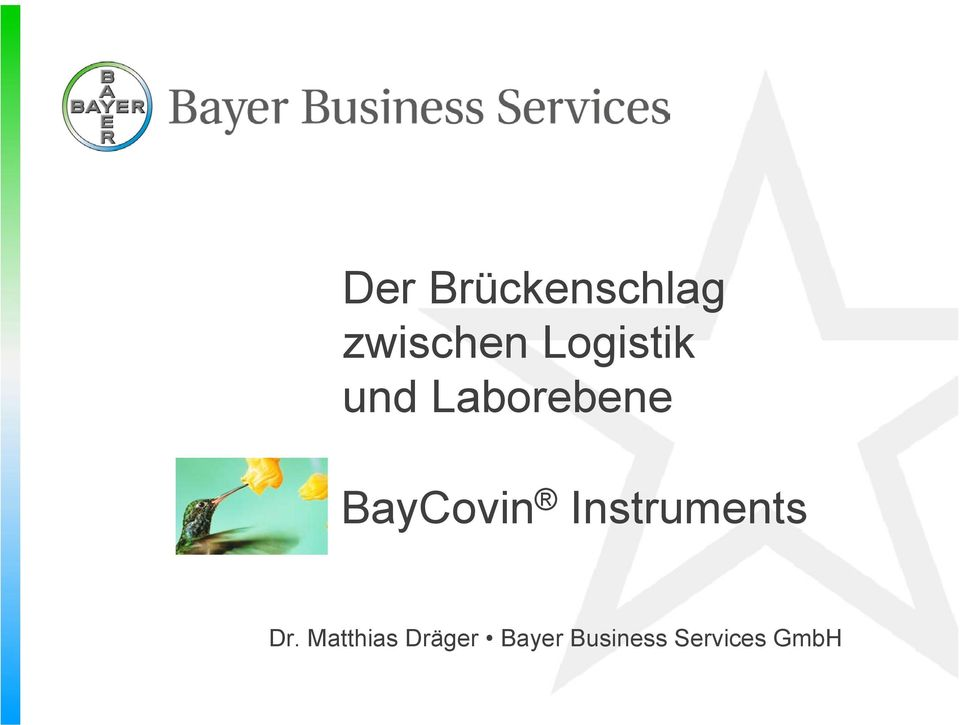 BayCovin Instruments Dr.