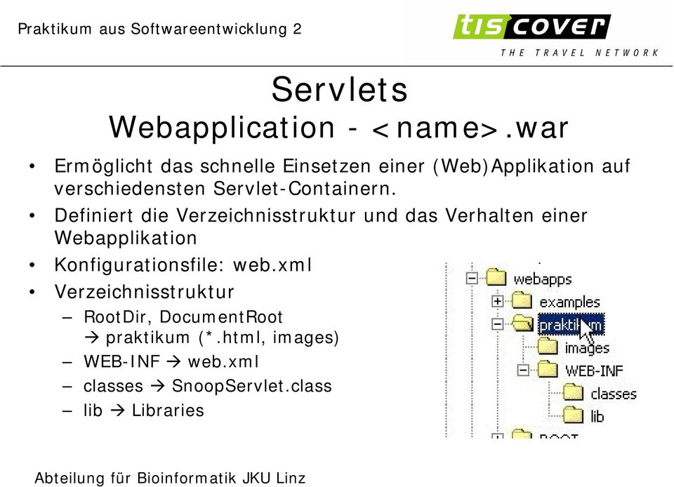 Servlet-Containern.
