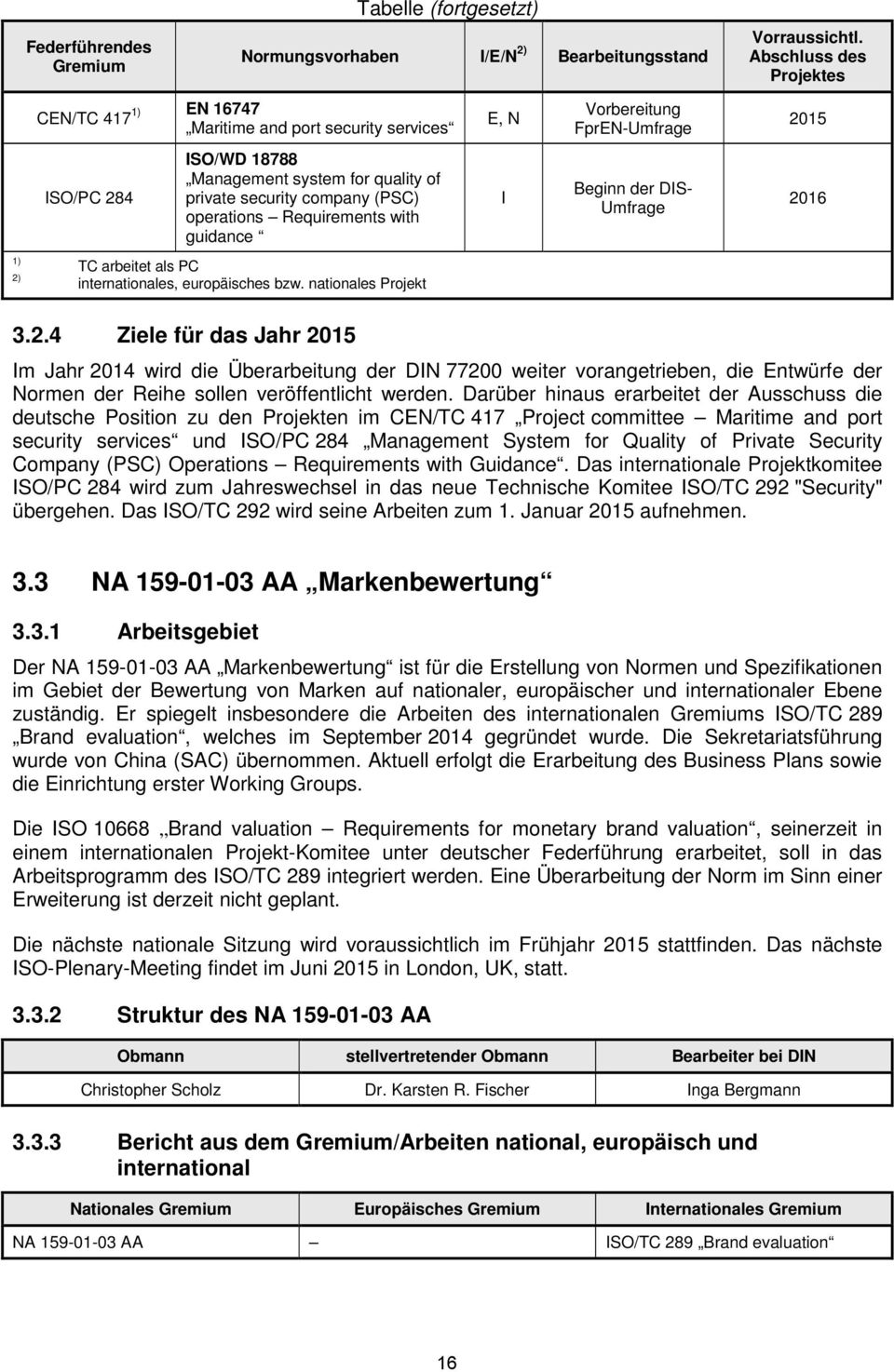 (PSC) operations Requirements with guidance Beginn der DS- Umfrage 20