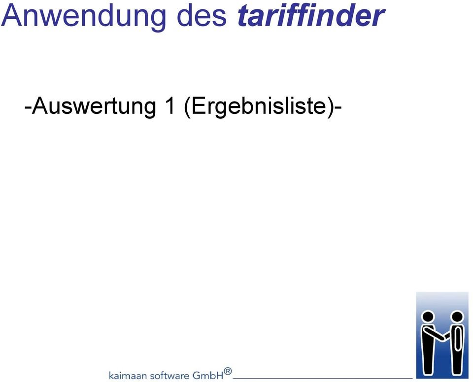 -Auswertung 1