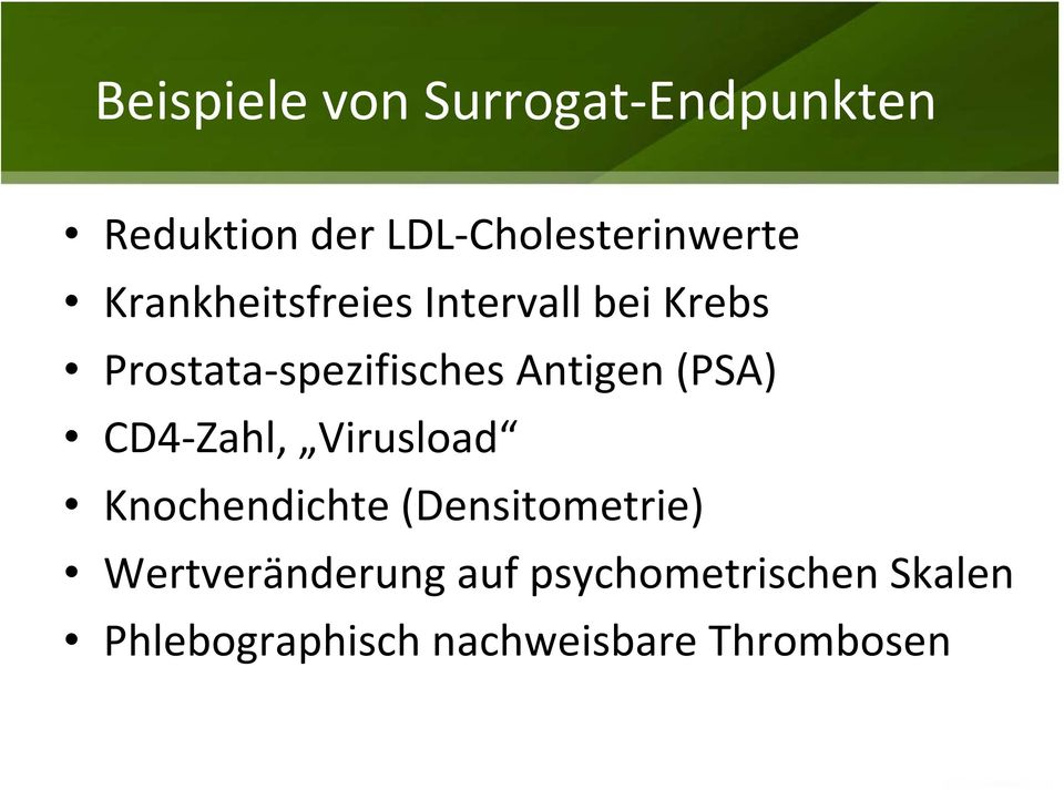 (PSA) CD4-Zahl, Virusload Knochendichte (Densitometrie)