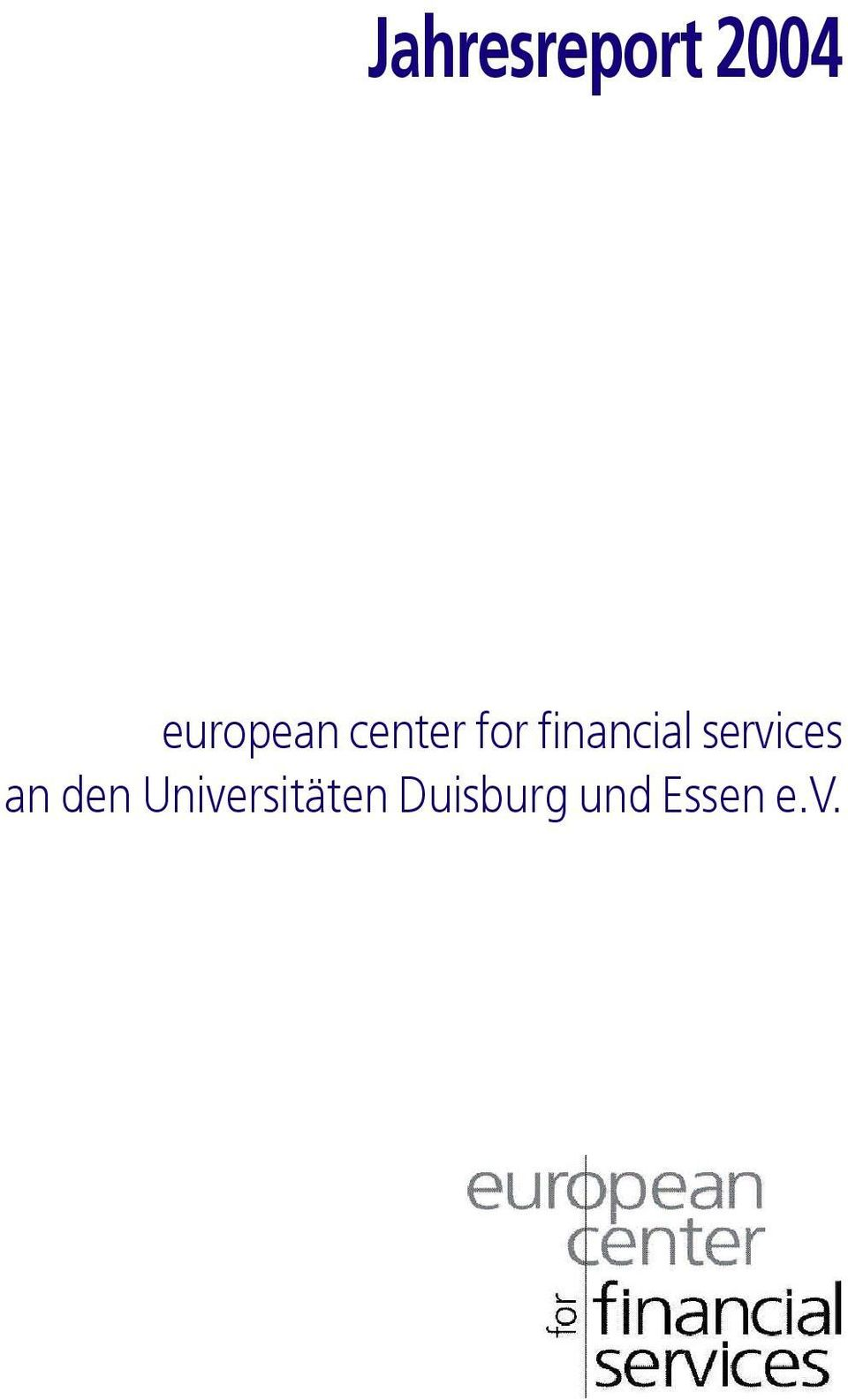 financial services an den