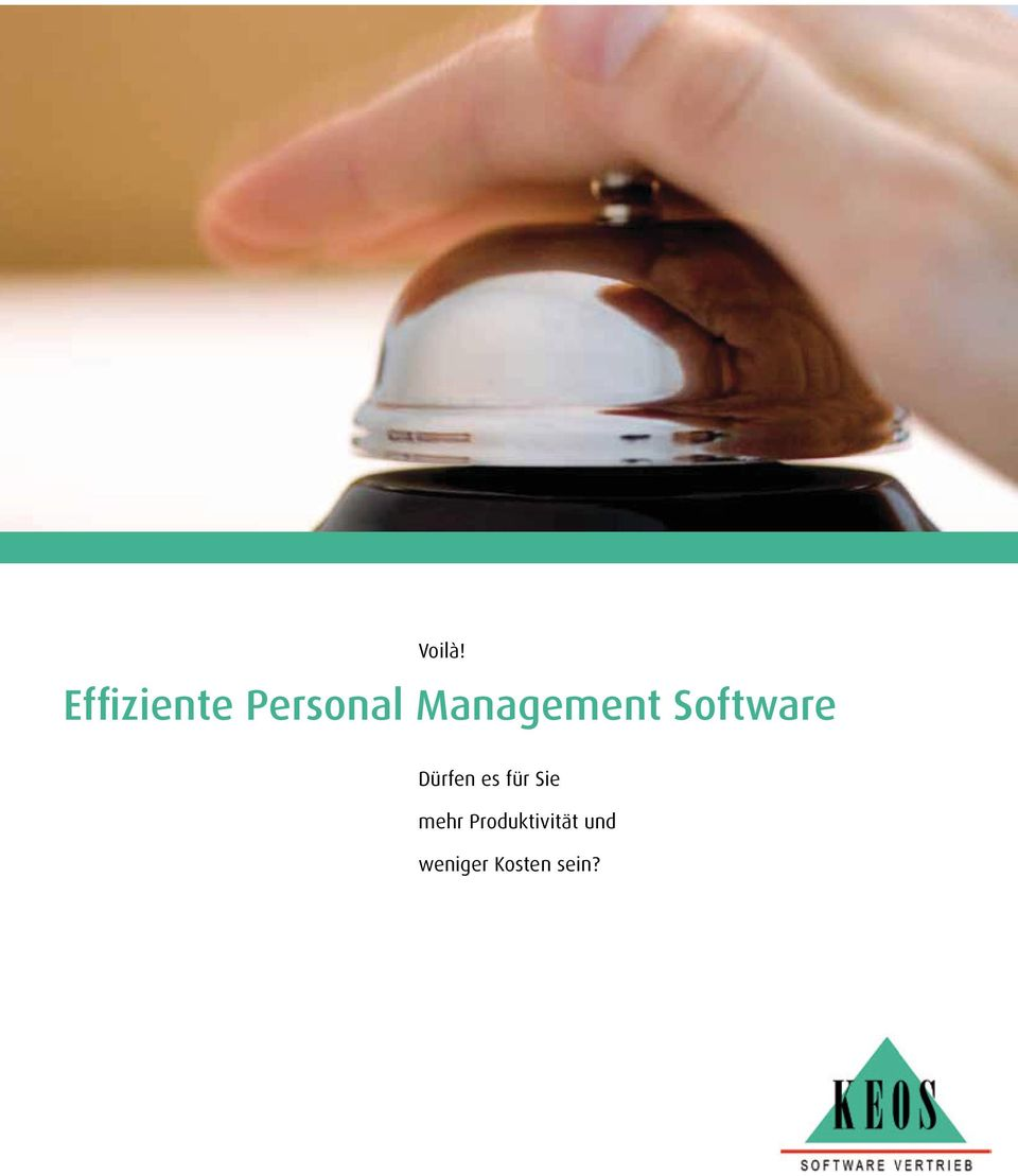 Management Software Dürfen