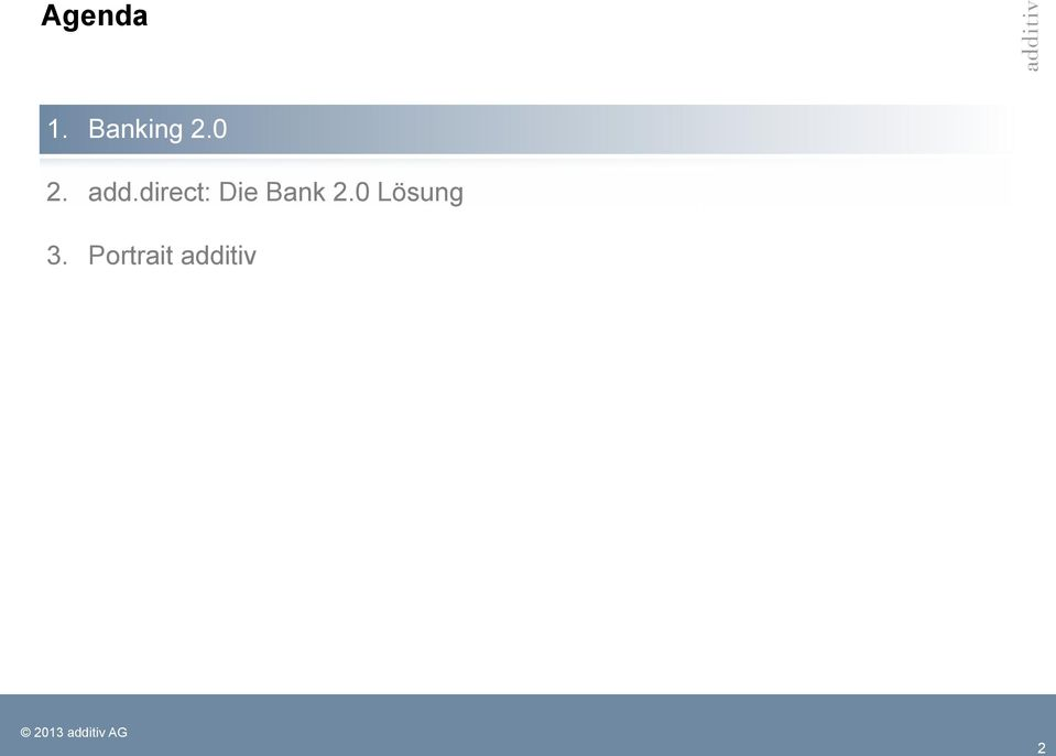 direct: Die Bank 2.