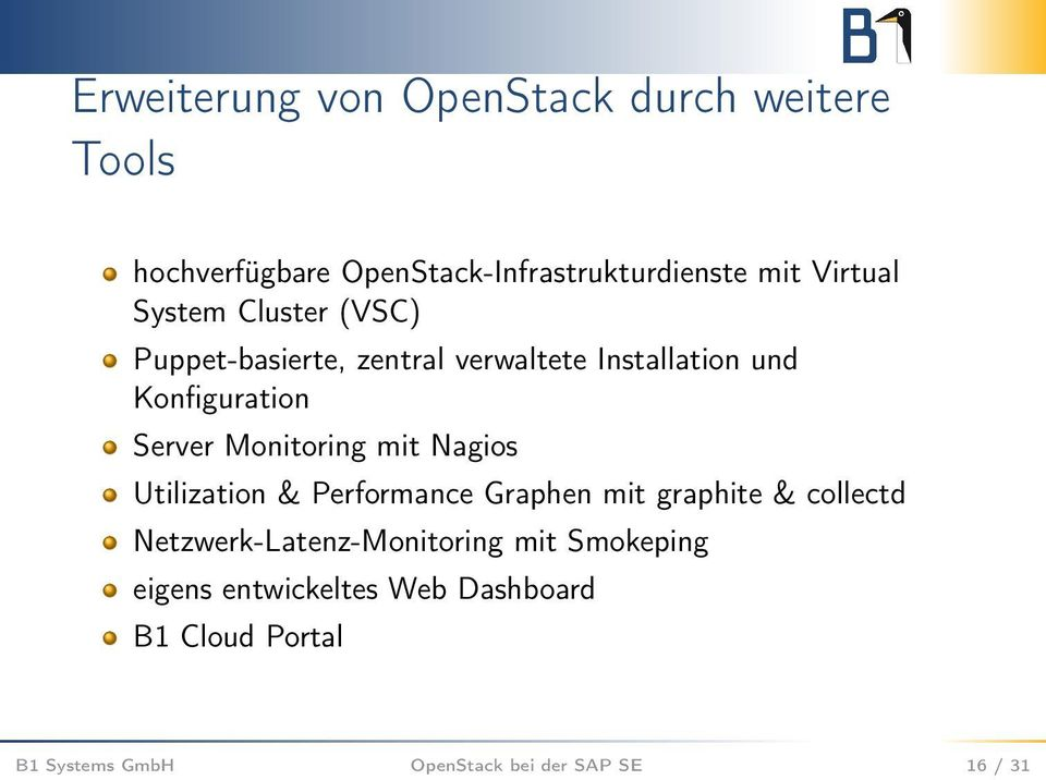 Monitoring mit Nagios Utilization & Performance Graphen mit graphite & collectd