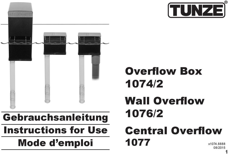 1074/2 Wall Overflow 1076/2