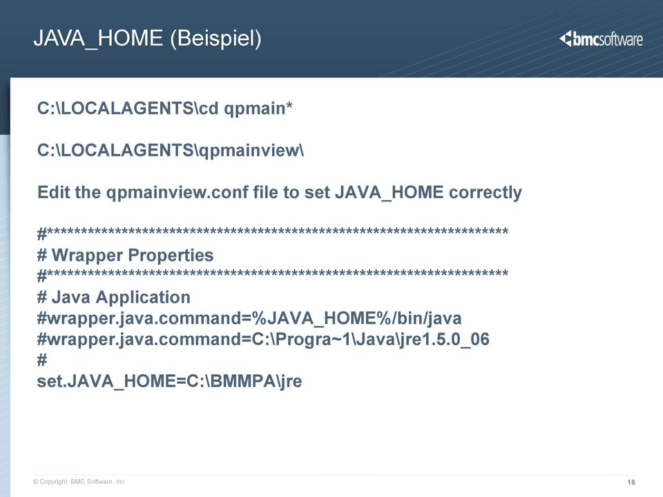 Wrapper Properties #******************************************************************** # Java Application