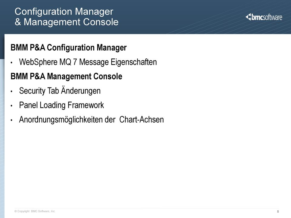 P&A Management Console Security Tab Änderungen Panel Loading