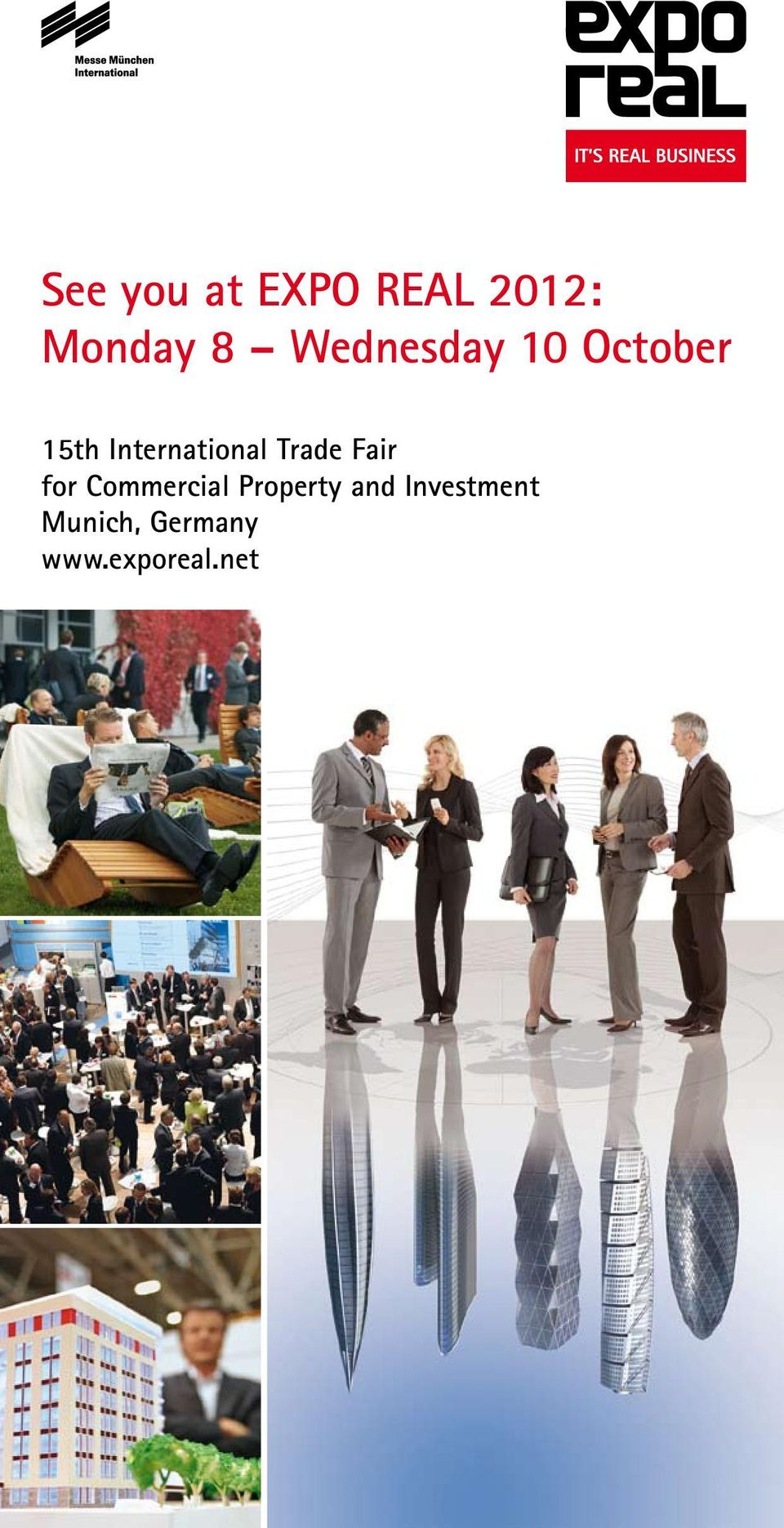 15th 14th for Commercial International Property Trade Fair and Investment for Munich,