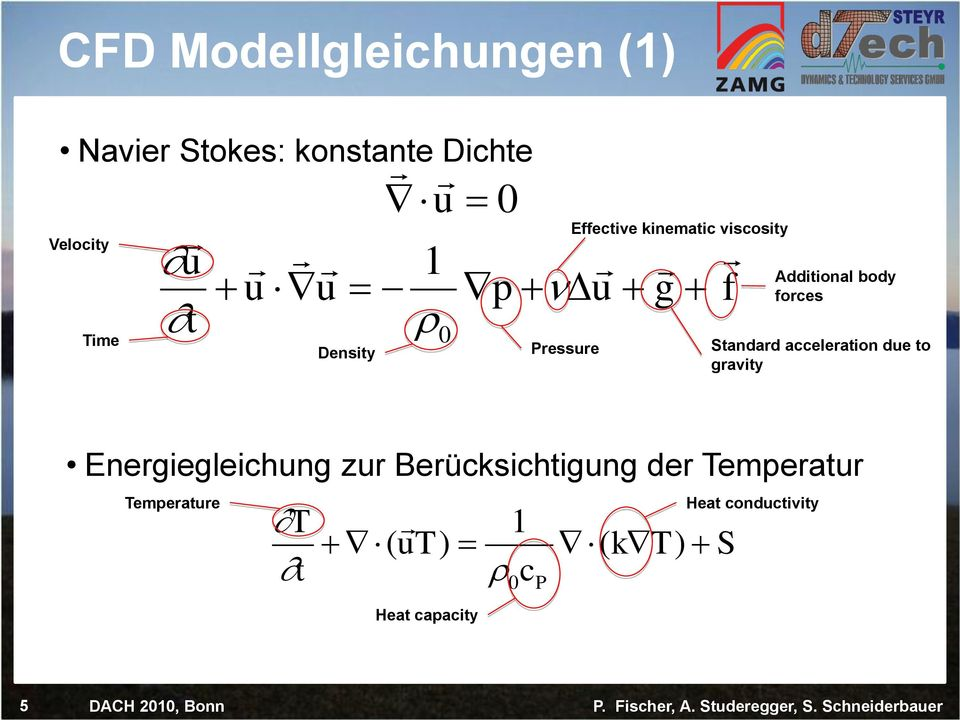 forces tandard acceleration due to gravity Energiegleichung zur erücksichtigung