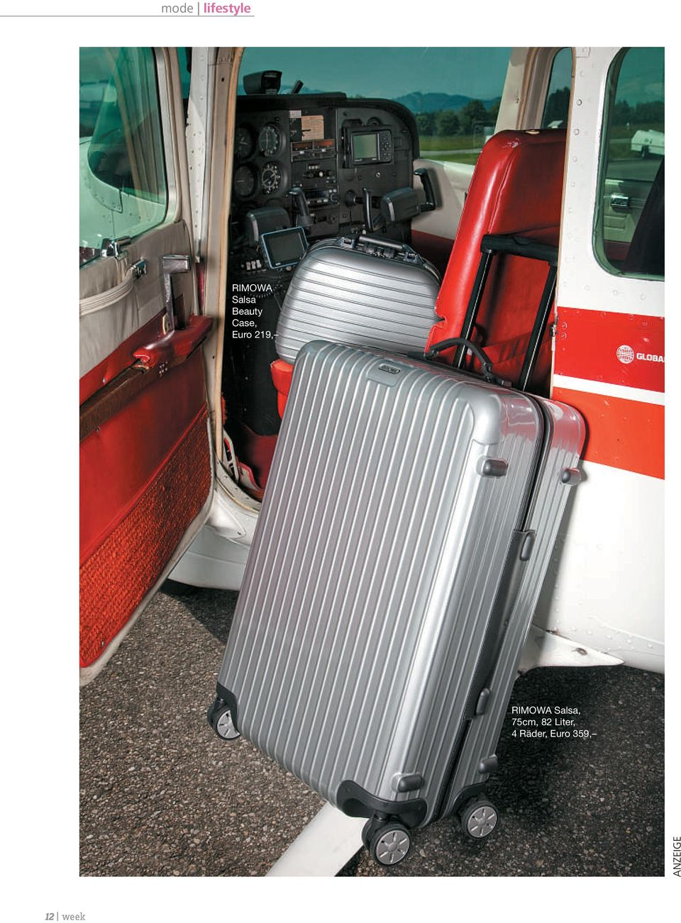 7,95 Hemd, Broadway Fashion, 24,95 RIMOWA Salsa,