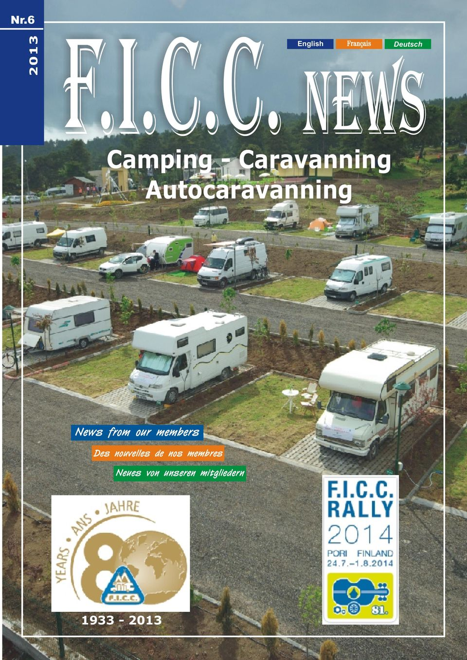 Autocaravanning English Français Deutsch
