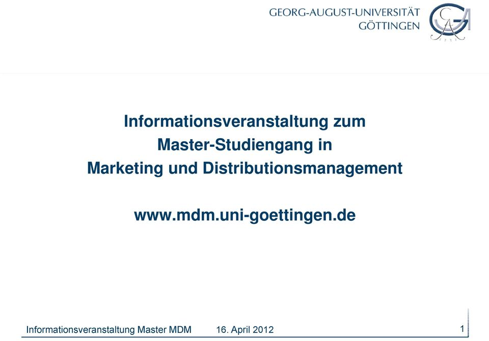Marketing und