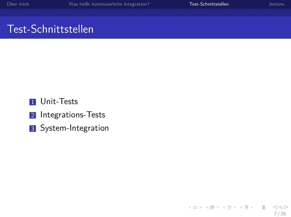 Integrations-Tests 3