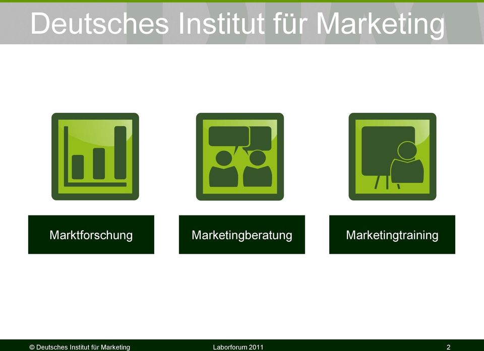 Marketingberatung Marketingtraining