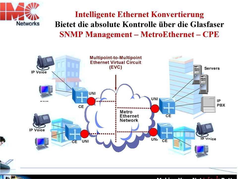 Multipoint-to-Multipoint Ethernet Virtual Circuit (EVC) Servers Data