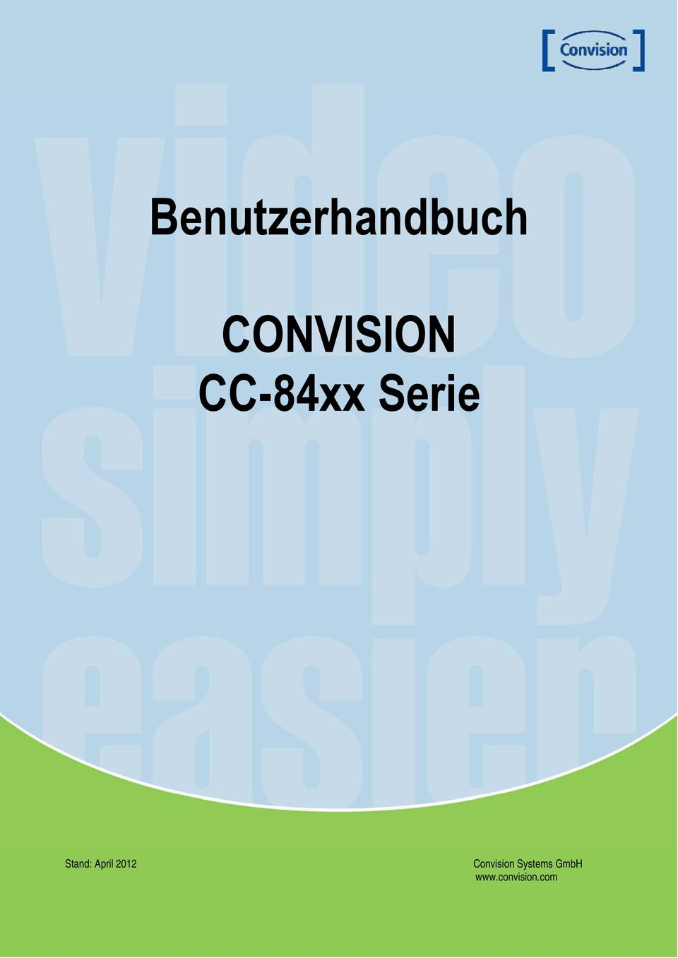 2012 Convision Systems GmbH