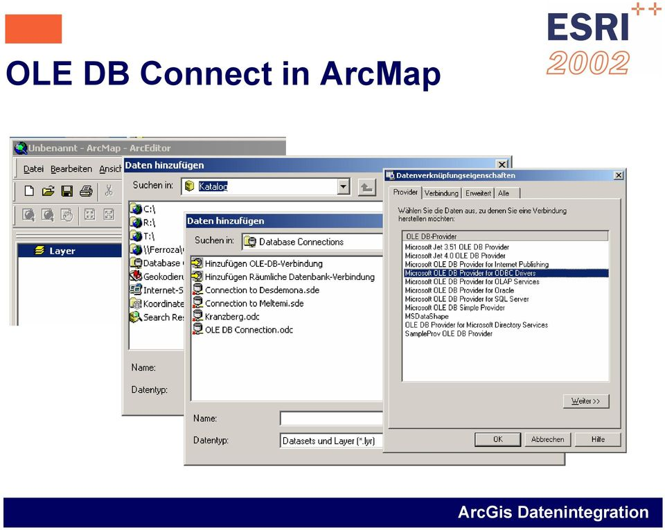 in ArcMap