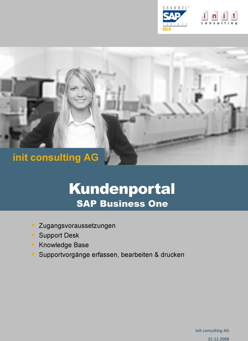 Knowledge Base Supportvorgänge
