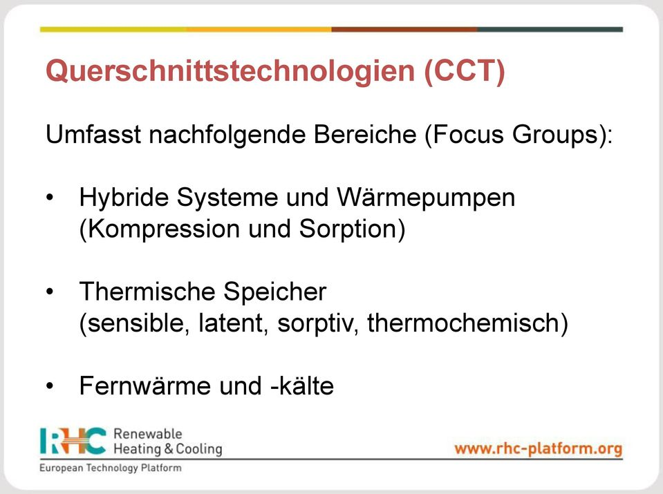 Wärmepumpen (Kompression und Sorption) Thermische