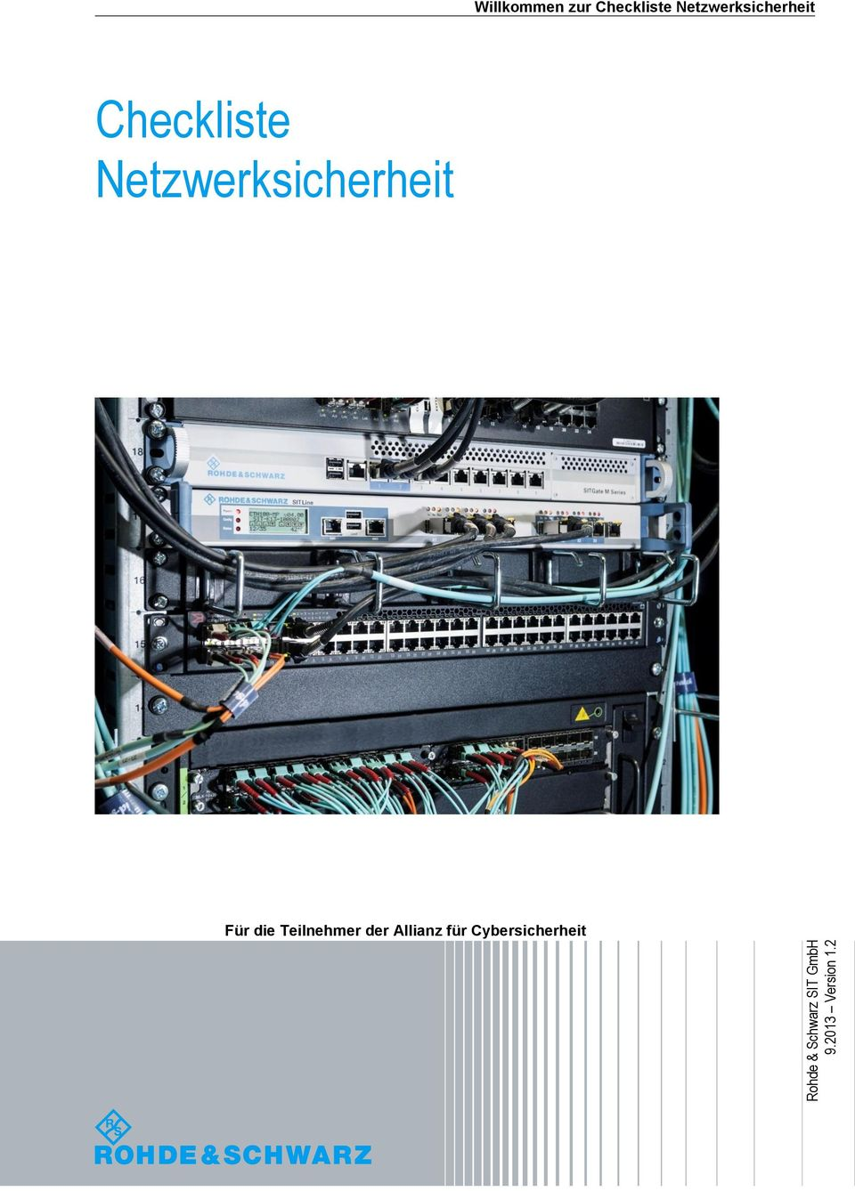Checkliste Netzwerksicherheit Start print preview