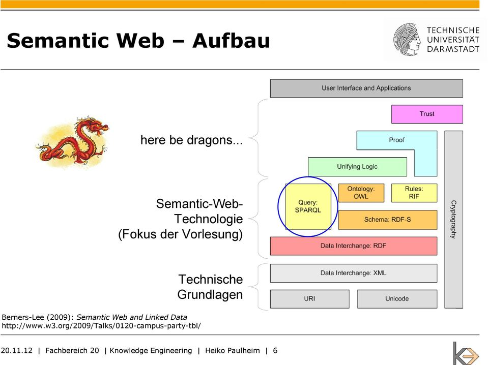 Grundlagen Berners-Lee (2009): Semantic Web and Linked Data