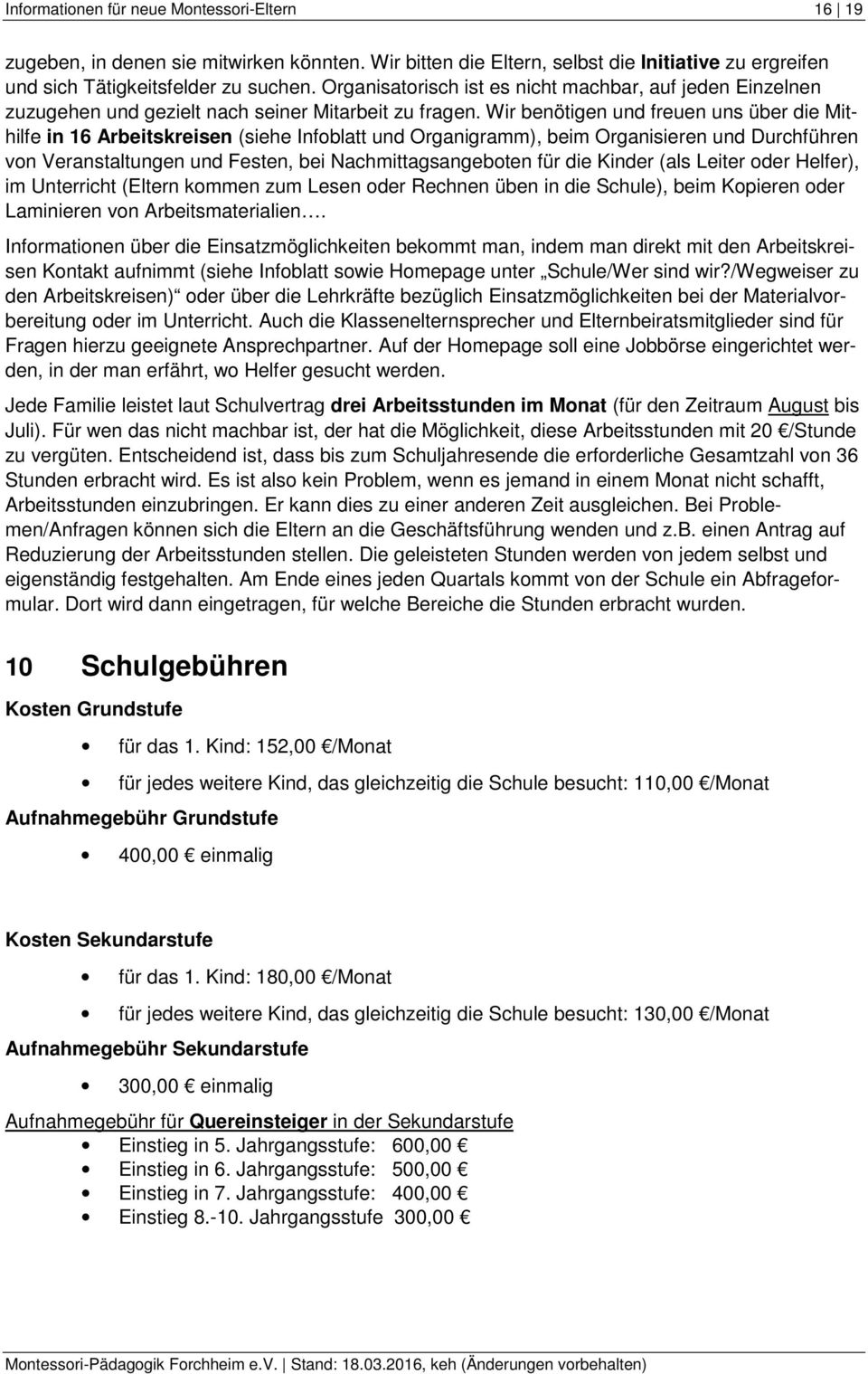 Fein Montessori Lehrer Lebenslauf Bilder - Entry Level Resume ...