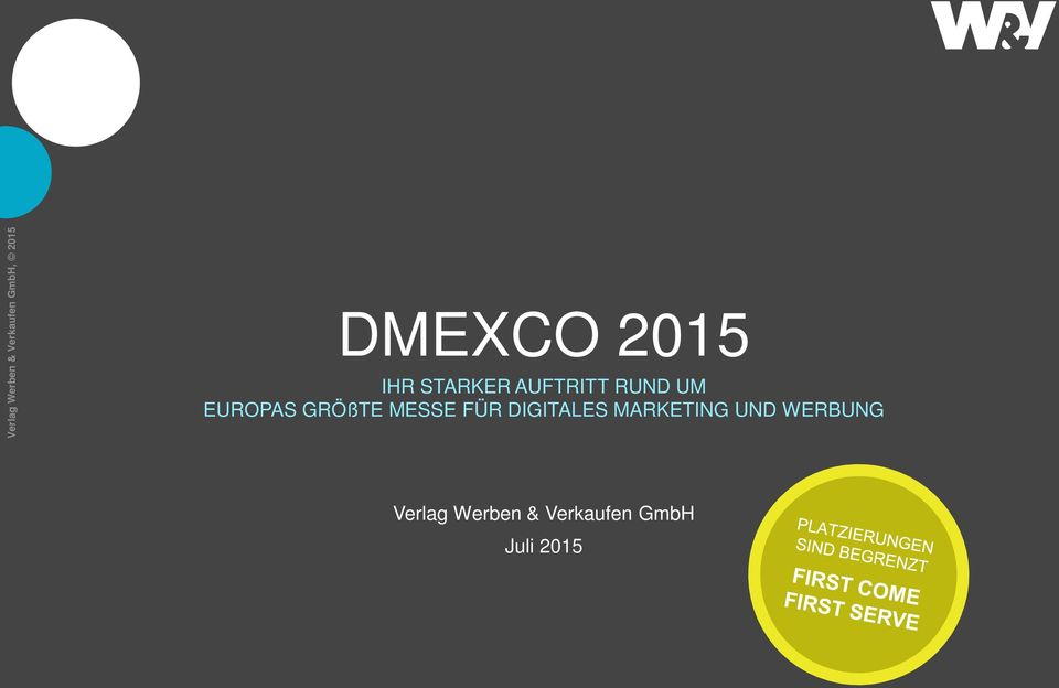 GRÖßTE MESSE FÜR DIGITALES MARKETING UND