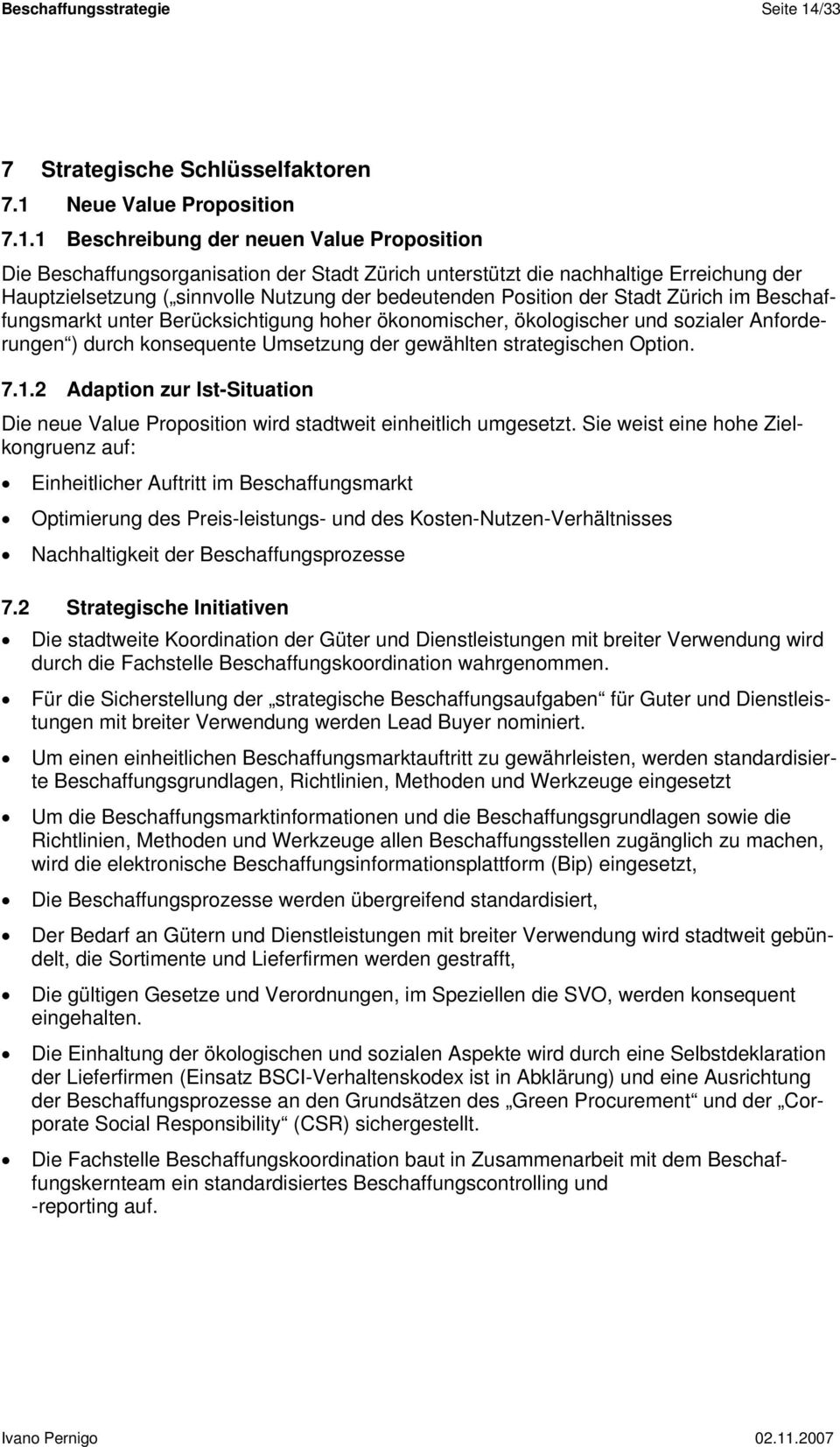 Neue Value Proposition 7.1.