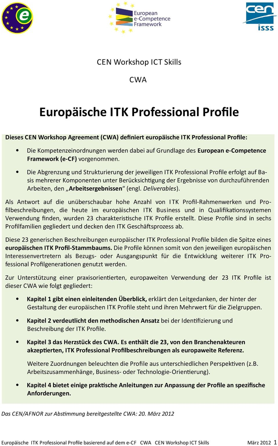 what is a professional profile